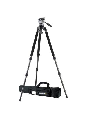 Miller 1640 DS10 Solo 75 2-Stage Alloy Tripod System - Payload 2-5Kg