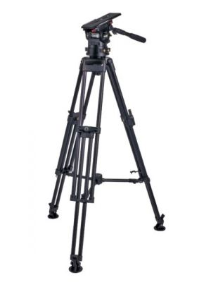 Miller CiNX 3 HDC 100mm 1 Stage Alloy Tripod with Mid-level Spreader