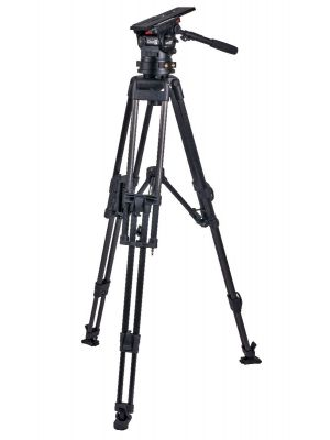 Miller CiNX 7 HD 100 2 Stage Carbon Fibre Tripod System with Mid-level Spreader