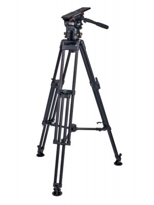 Miller CiNX 7 HDC 100 1 Stage Alloy Tripod System with Mid-level Spreader
