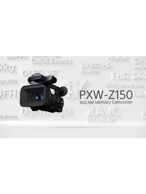 Sony PXW-Z150 Professional Compact 4K Camcorder