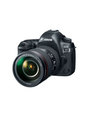 Canon 5D Mark IV DSLR Camera with 24-105 F4L IS Mark II Lens