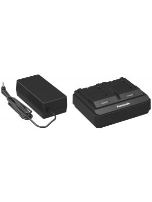 Panasonic AG-BRD50E Dual Rapid Battery Charger for AG-VBR series battery
