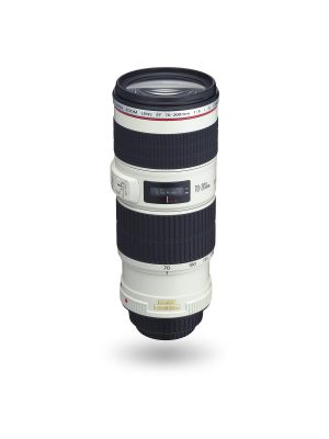 Canon EF 70-200mm F4 L IS USM Telephoto Zoom Lens with case and hood