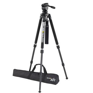 Miller 3005 System AIR CF2 with Solo 75 2-St C/F Tripod 1501 Pan Handle 682 Softcase 2095 Camera Plate 1204 Strap 1520