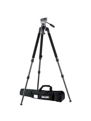 Miller 1643 DS20 Solo 75 2-Stage Alloy Tripod System- Payload 5-10Kg