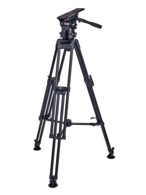 Miller CiNX 5 HDC 100 1-Stage Alloy Tripod System with Mid-level Spreader