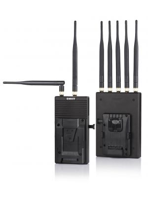 SWIT S-4904S SDI/HDMI Wireless Transmission System (700m line of sight) SDI x1 and HDMI V-mount battery system DC 6.5-17V