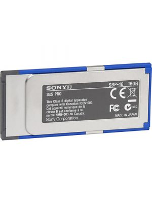 Sony SBP-16 SxS Pro Memory Card (one only)
