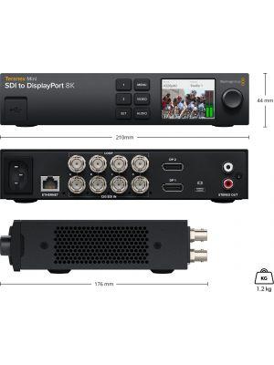 Blackmagic Teranex Mini SDI to DisplayPort 8K HDR